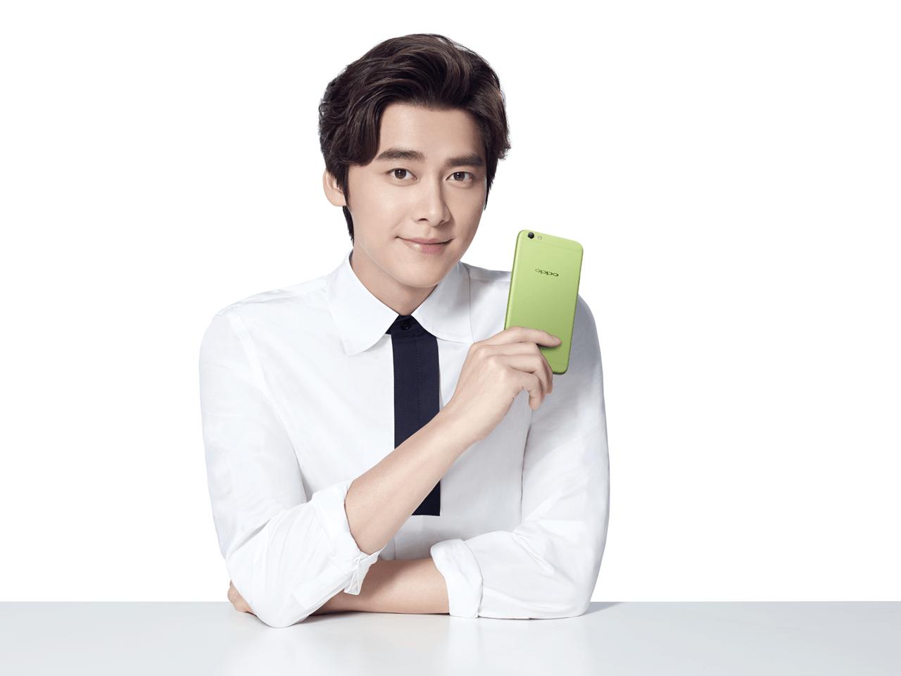 OPPO清新绿手机现身李易峰微电影